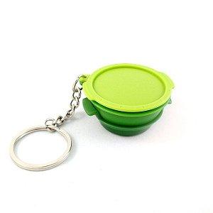 Tupperware Chaveiro Micro Gourmet Verde
