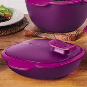 Tupperware Travessa Thermo Tup 1,3 litro Rosa