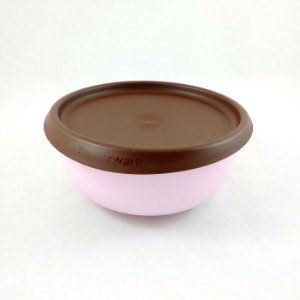 Tupperware Tigela Toque Mágico Rosa Chocolate 550ml
