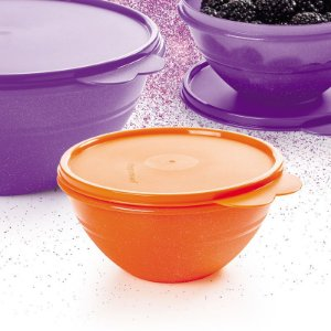 Tupperware Tigela Maravilhosa 750ml Laranja Glitter