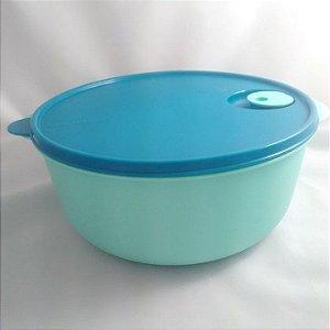 Tupperware Cristalwave 4 litros Verde Mint e Tampa Azul