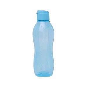 Tupperware Eco Tupper Garrafa Plus Redonda Azul Céu 1 litro
