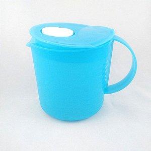 Tupperware Jarra Cristalwave 1 litro Azul Claro