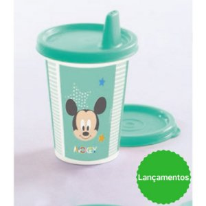 Tupperware Copinho com Bico Baby Disney 200ml Verde