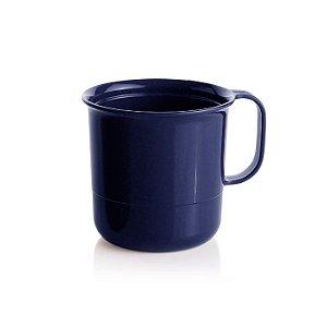 Tupperware Caneca Azul 350ml