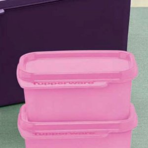 Tupperware Basic Line 160ml Rosa