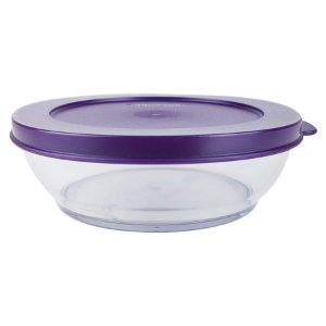 Tupperware Tigela Clear Bowl 410ml Roxa