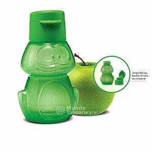 Tupperware Eco Tupper Kids Sapo Garrafa de Água Infantil Verde 350ml