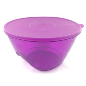 Tupperware Tigela Design Roxo Quartzo 5,5 litros