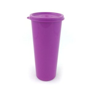 Tupperware Copo Roxo 450ml