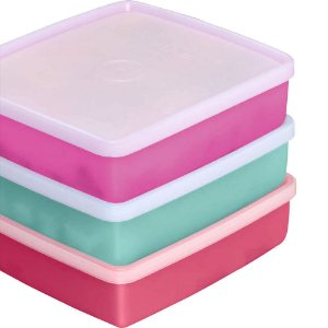 Tupperware Refri Box 400ml Kit 3 peças