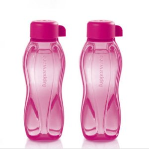 Tupperware Mini Eco Tupper 310ml kit 2 Peças Rosa