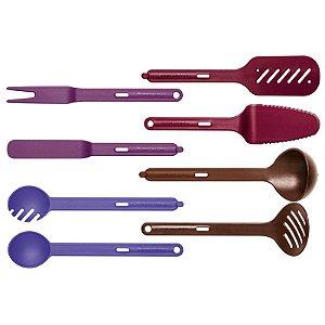 Tupperware Kit Utensílios 8 peças
