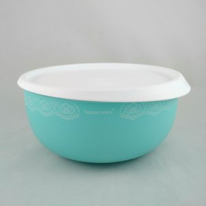 Tupperware Tigela Toque Mágico Verde Mint com Renda 1,3 litro