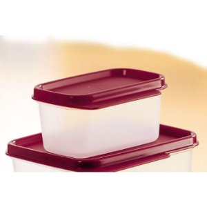 Tupperware Basic Line 160ml litro Transparente Tampa Marsala