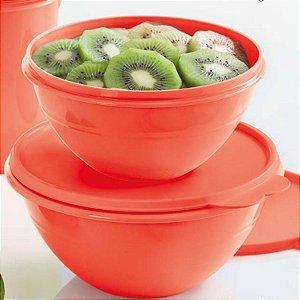 Tupperware Tigela Maravilhosa Verão 1litro + 1,8 litros