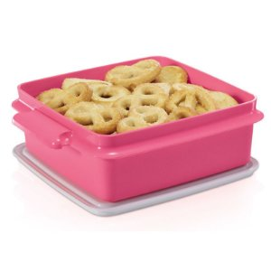 Tupperware Pote sem Alça 780ml Rosa