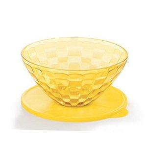 Tupperware Tigela Prisma 2 litros Amarelo