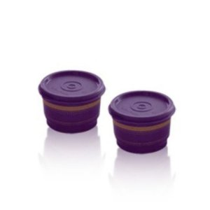 Tupperware Potinhos Oriental kit 2 peças 140ml