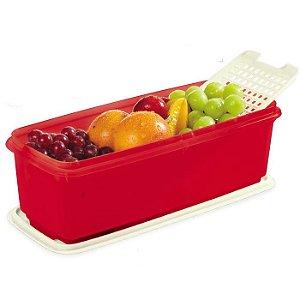 Tupperware Super Caixa 4,3 litros Vermelho