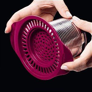 Tupperware Escorredor de Latas Violeta