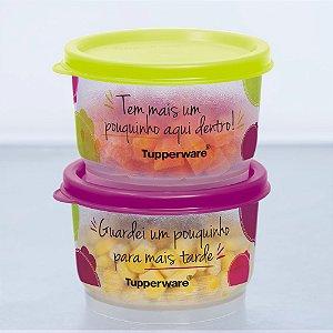 Tupperware Potinho Sobras 140ml kit 2 peças