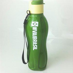 Tupperware Eco Tupper 500ml Plus Brasil Verde + Adesivo Comemorativo