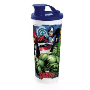 Tupperware Copo com Bico Vingadores 470ml