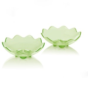 Tupperware Fruteira Floresta Pequena Verde kit 2 peças