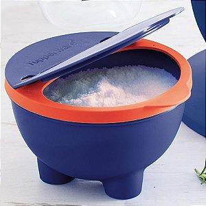 Tupperware Chef Saleiro 450ml Azul e Laranja