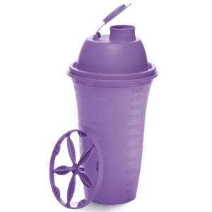 Tupperware Quick Shake II 500ml Roxo