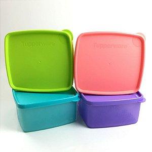 Tupperware Jeitosinhos Neve Kit 4 Peças