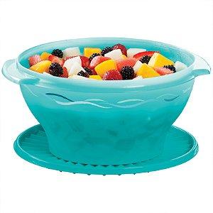 Tupperware Tigela Sensação 4 litros Azul Turquesa