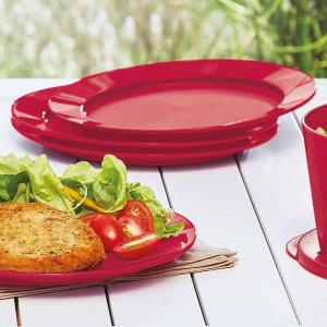 Tupperware Prato Outdoor kit 4 peças