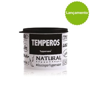 Tupperware Redondinha Temperos PB 500ml
