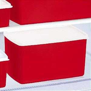 Tupperware Espaçosa Vermelho 3 litros