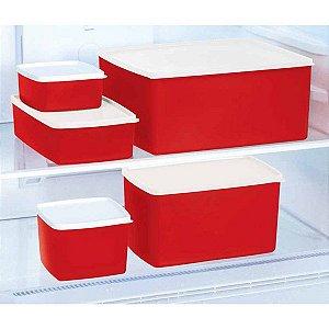 Tupperware Freezer kit 5 peças
