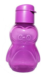 Tupperware Eco Kids Garrafa Pinguim 350 ml Lilás