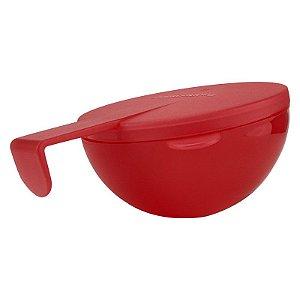 Tupperware Conserva Metade Redondo 200ml Vermelho