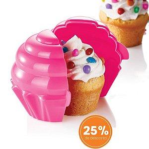Tupperware Cupcake Rosa