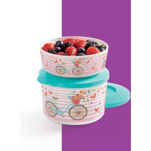 Tupperware Tigela Ilúmina Bike 350ml + 800ml