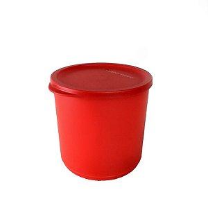 Tupperware Refri Line Redondo 1,1 litro Vermelho