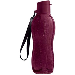 Tupperware Eco Tupper Garrafa Plus Merlot Glitter 500ml