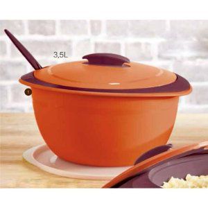 Tupperware Tigela Thermo 3,25 litros Laranja