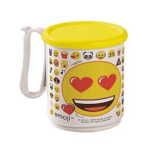 Tupperware Caneca Jumbo Emoji Apaixonado 550ml