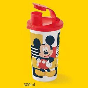 Tupperware Copo com Bico Mickey 90 Anos 300ml