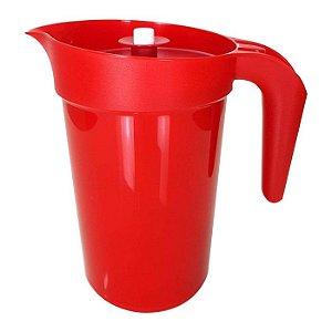 Tupperware Jarra Colors Vermelho 2 litros