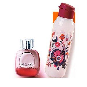 Perfume Nutrimetics Rouge Deo-Colônia 100ml + Eco Tupper Cherry 750ml Grátis