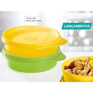 Tupperware Pratinho 180ml Verde e Amarelo Kit 2 peças