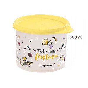 Tupperware Redondinha Tenha Muita Fartura 500ml